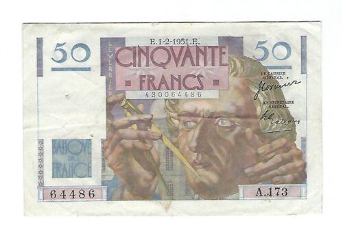 France - 1951, 50 Francs