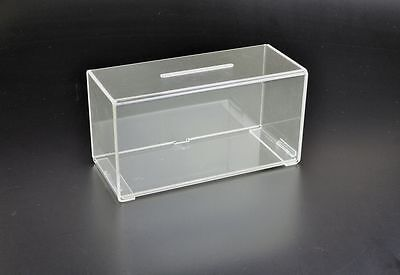 Suggestion Box Collection Box in Clear Acrylic - PDS9458 Clear