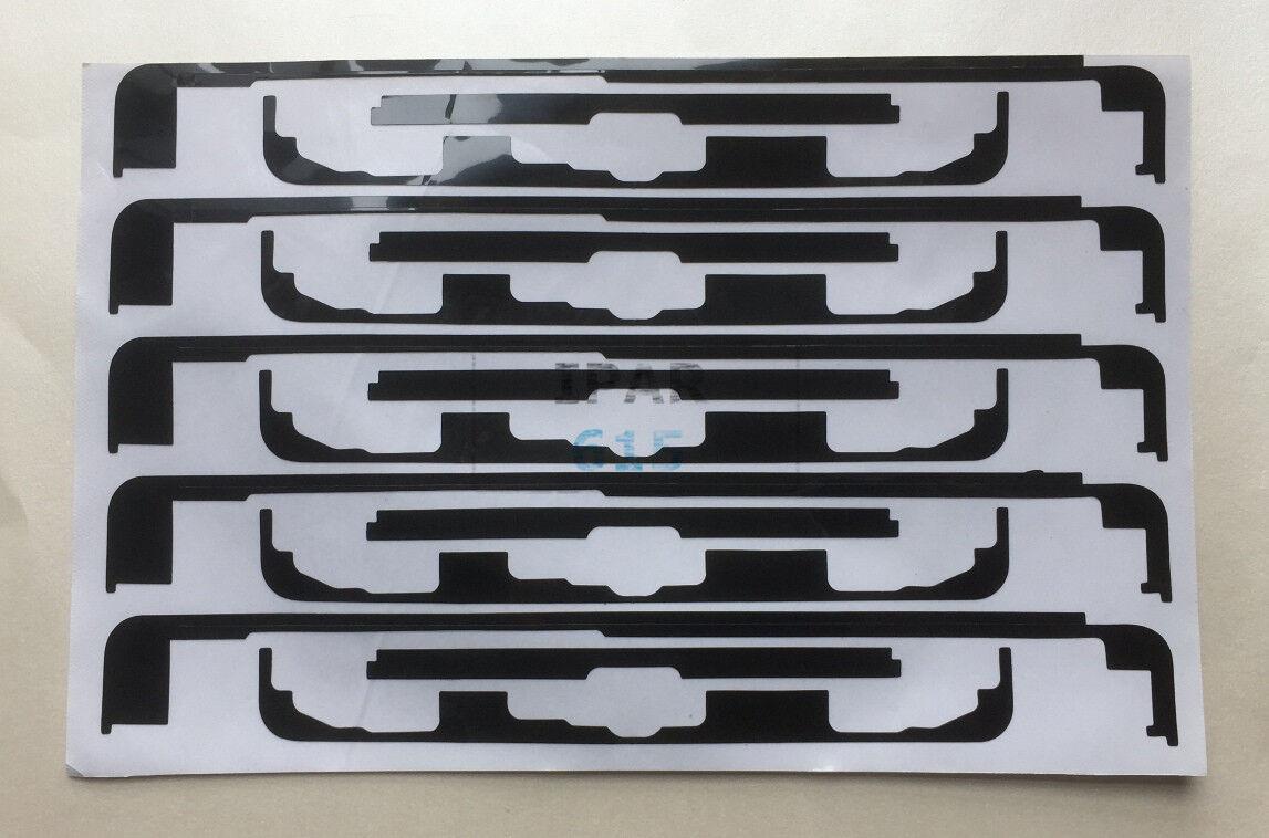 5X Touch Screen 3M Pre Cut Adhesive Tape Sticker Glue Black