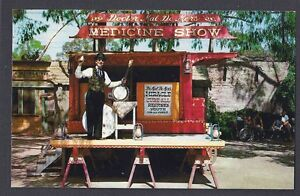 ca 1965 post card knotts berry farm the medicine show buena park ca mint ebay. Black Bedroom Furniture Sets. Home Design Ideas