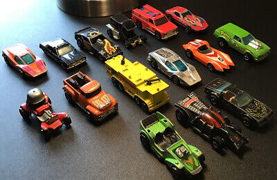Lot of 15 Vintage 60s - 70s Hot Wheels Cars And Trucks