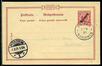 Marianen P 2  Saipan  Pforzheim   1901