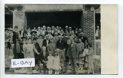 Denver Co Colorado Rppc Real Photo People Outside 1760 Ulster Street 1924 To 49