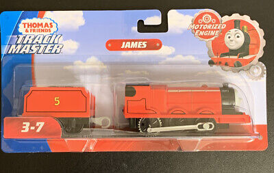 Motorized Trackmaster Thomas & Friends Train Tank Engine James NEW FAST SHIP