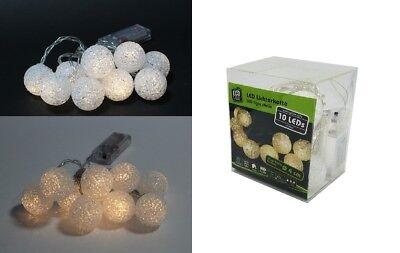 mit je 10 LEDs Softball Ø 4 cm Lichtgirlande Partydekoration (Softball Party Dekorationen)