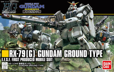 Bandai Hobby HGUC #210 RX-79(G) Gundam Ground Type HG Revive 1/144 Model Kit -