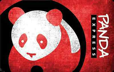 Panda Express Gift Card - 25 50 Or 100 - Email Delivery - $25.00