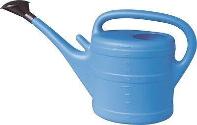 Watering Can 10 Litre Light Blue Plastic Jug Water Flower Garden Water Pitcher