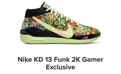 Nike KD 13 Funk 2K Gamer Exclusive PREORDER (PICK ANY SIZE)