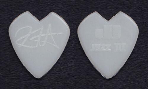 Metallica Kirk Hammett Glow Heart Guitar Pick - 2008-2010 World Magnetic Tour