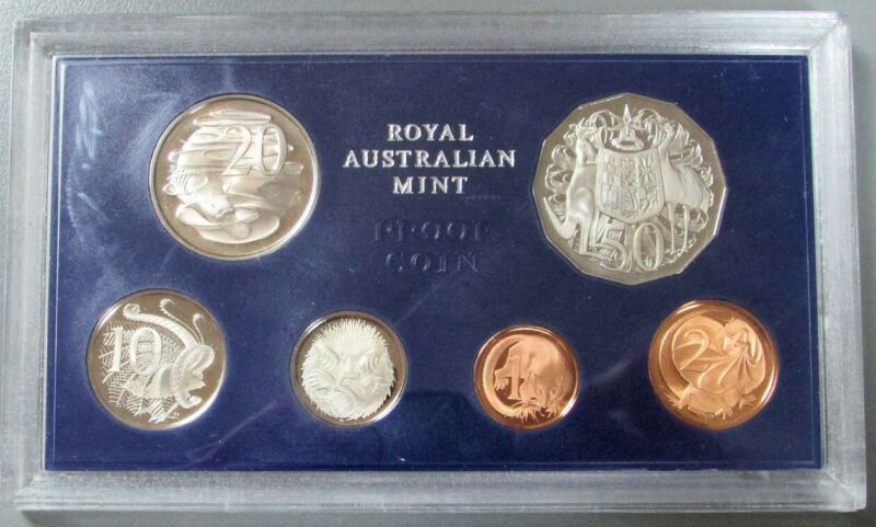 1973 AUSTRALIA 6 COIN PROOF SET