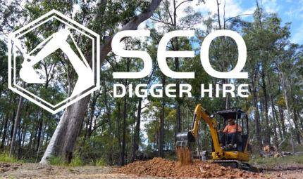 Mini Excavtor / Mini Loader Dry Hire