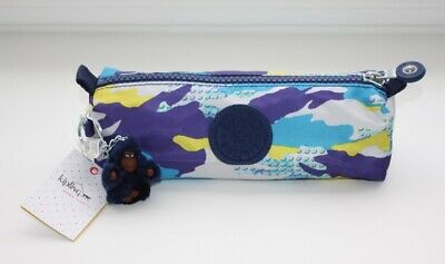 Kipling Freedom Pencil Case / Cosmetic Pouch Bag - Splash Crayon