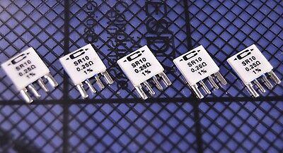 5 Caddock Type Sr Precision Current Sense Resistors 0.25 Ohm 1. Pn Sr10-.25