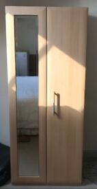 Wardrobe and two bed side tables in excellent condition