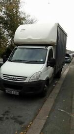 Iveco daily Luton curtain side