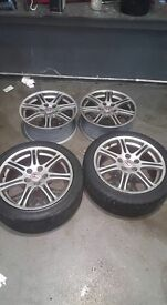 GENIUNE TYPE R ALLOY WHEELS BARGAIN