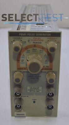 Tektronix Pg501 Pulse Generator Plug-in