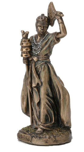 3.5 Inch Orisha Obatala Statue Santeria Lucumi African God Creator of Mankind