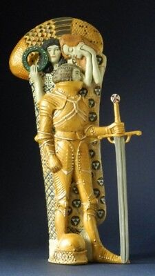 Der Ritter GUSTAV KLIMT Skulptur Parastone Museumsedition KL26 Figur