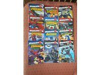I Can Read series - superhero & transformers