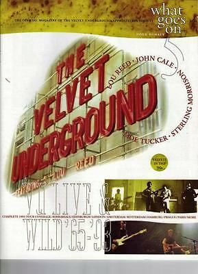 VELVET UNDERGROUND FANZINE    What Goes On #5    MINT!