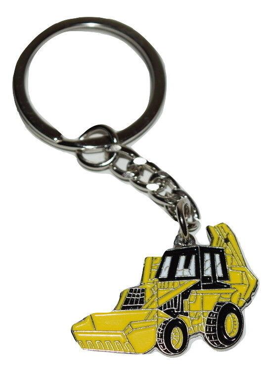 Yellow version JCB Fastrac Tractor pin badge Farm Farming
