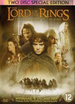 Lord Of The Rings - The Fellowship Of The Ring (DVD) (Films)