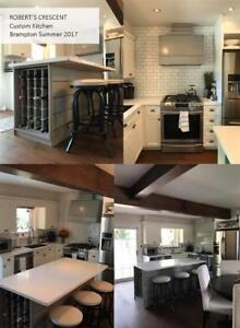 Beautiful kitchen/cabinets in the GTA installed within 4 WEEKS!