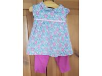 Jojo Maman Bebe Floral Top and Trousers 18-24mths