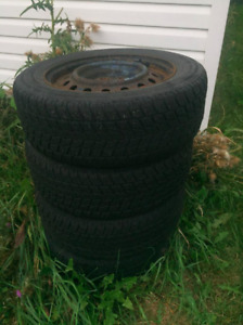 SUMMER TIRES WITH RIMS 215/60 R16