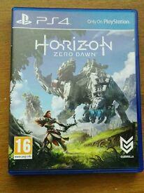 Horizon Zero Dawn PlayStation 4 PS4