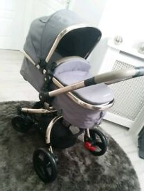Mothercare Orb GREY AND GOLD Excellent Condition Hardly Used!