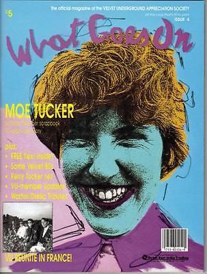 VELVET UNDERGROUND FANZINE -- What Goes On #4  from 1991 - MINT!