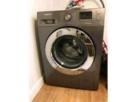 Sliver Samsung 8kg washing machine