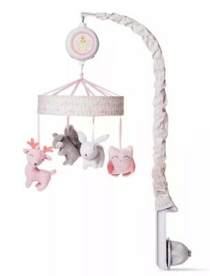 Cloud Island Pink Crib Mobile Forest Frolic Brand New in Ugly yet SEALED Box
