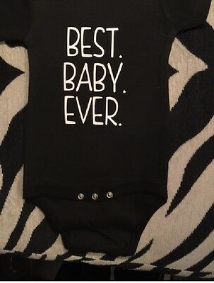 best baby ever funny baby shirt baby boy one piece baby girl clothes shower