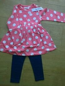 New With Tags. Dress & Leggings Set. 2-3 Years.