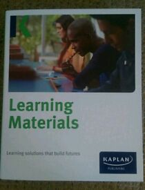 ACCA F4 Learning materials - Kaplan