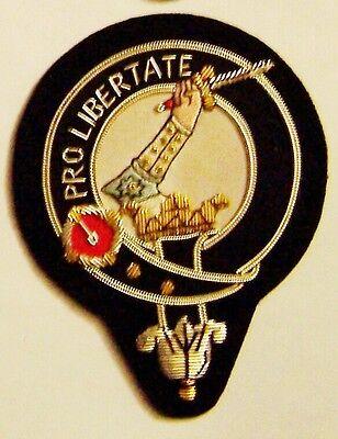 Royal Scottish Scotland Clan Wallace Braveheart Heraldry Crest Family Name Patch