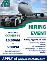 Ramp Agent - YVR Airport (ATS) Vancouver