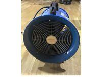 Broughton EAP ventilation extractor Fan industrial