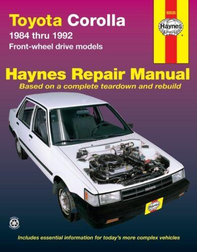 Service & Repair Manuals Parts & Accessories Haynes 92037 Repair ...