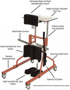 Modular Standing Frame and Transfer Device Watch|Share |Print|Re