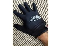 North Face neoprene mix gloves