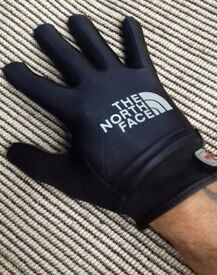 North Face gloves stone island