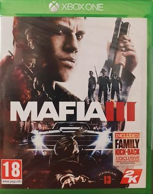 Mafia 3 III (Xbox One) Brand New Sealed PAL UK Video Game