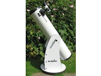 Skywatcher dobsonion telescope 8 inch