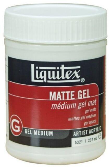Liquitex Professional Matte Gel Medium, 237 ml