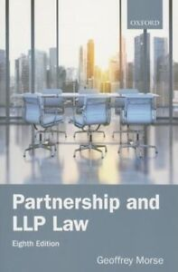 Partnership and LLP Law by Geoffrey Morse (Paperback, 2015)